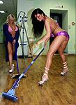 Звезда стриптиза Кристина. Фото для календаря 2009