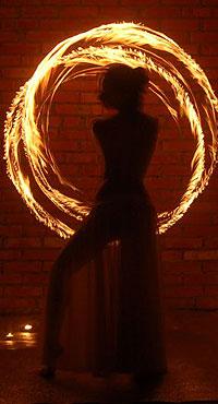 Заказать огненное шоу (fire-show) со стриптизом